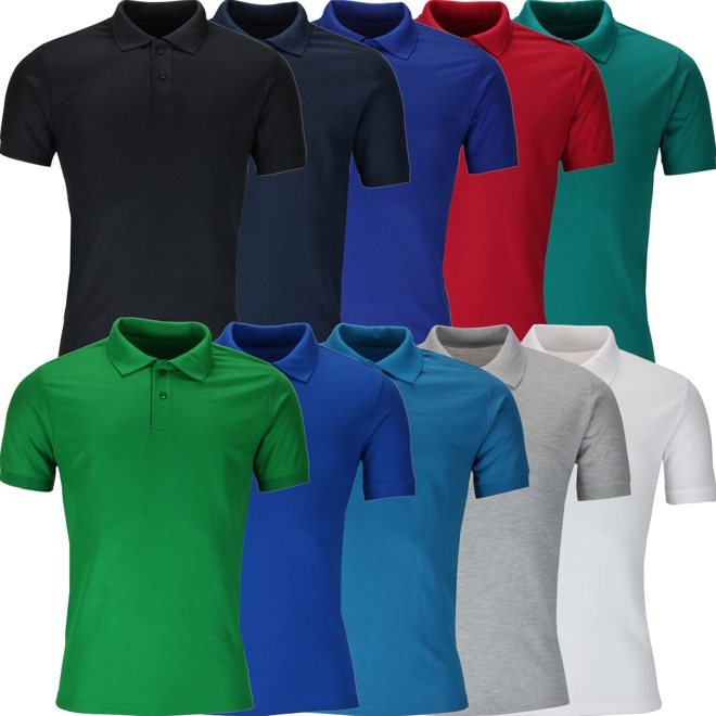 Urban Heritage® Plain Polo Shirt