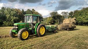Custom farming, hay, tractor