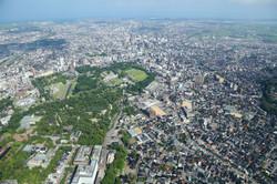 兼六園と金沢城