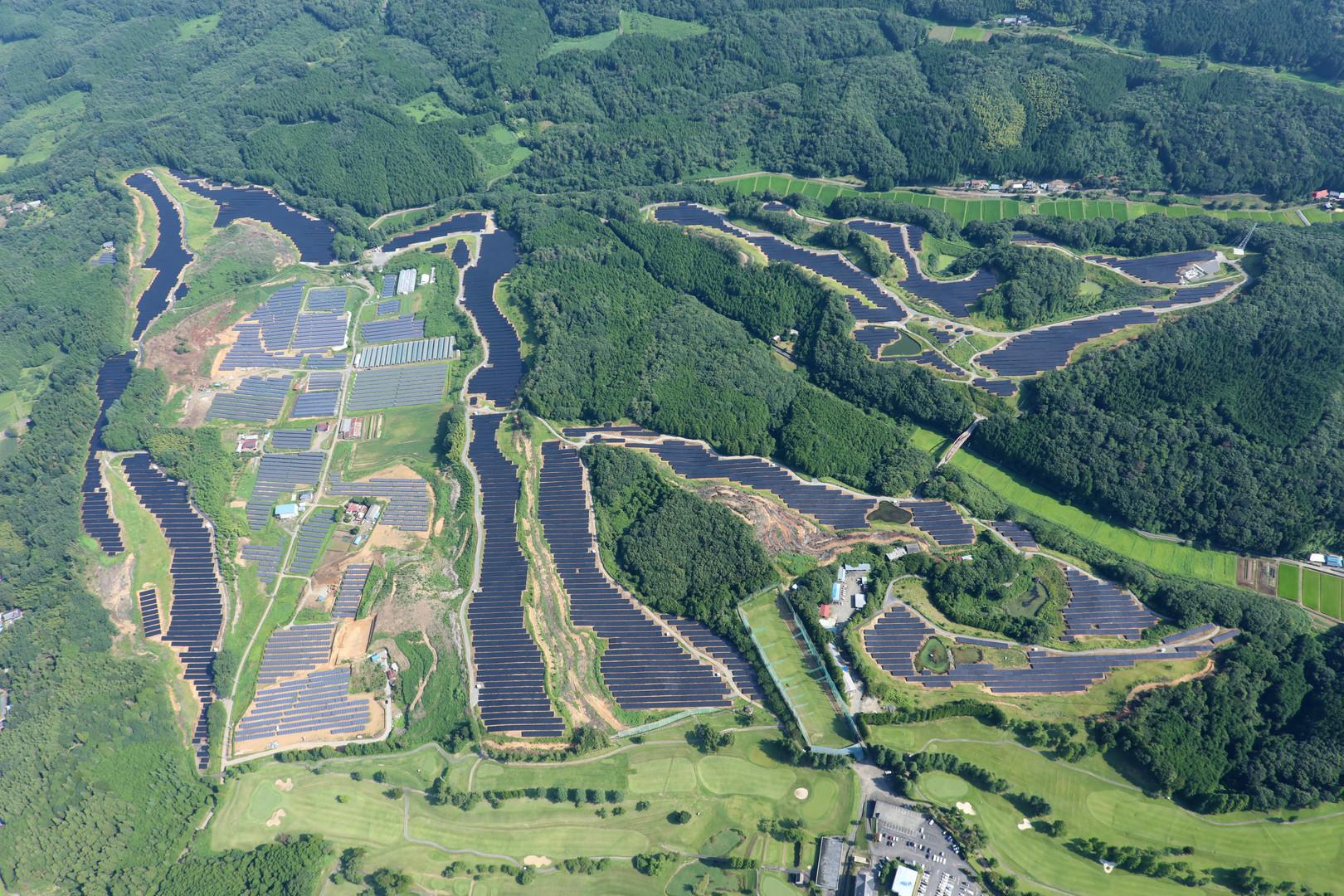 栃木那珂川太陽光発電所