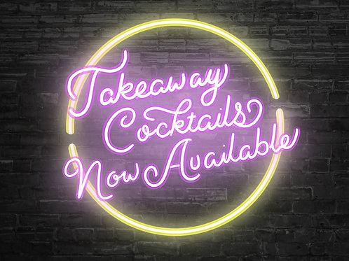 Made to Order Cocktails - Serves 2