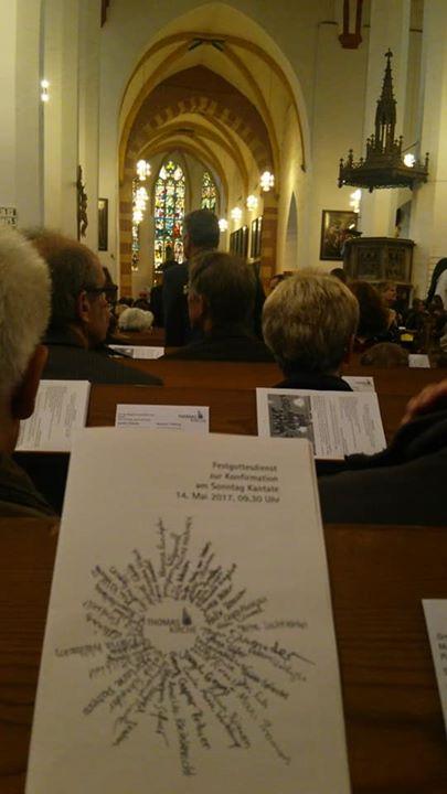 聖トーマス教会_日曜礼拝の様子