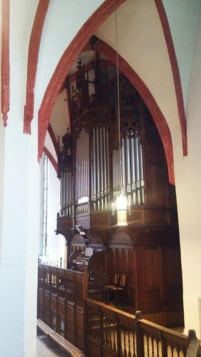 聖トーマス教会オルガン