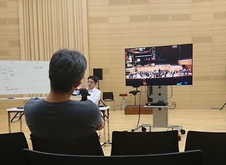 衝撃の作品・演奏『自動演奏ピアノ、2人の打楽器奏者、アンサンブルと電子音響のための協奏曲』