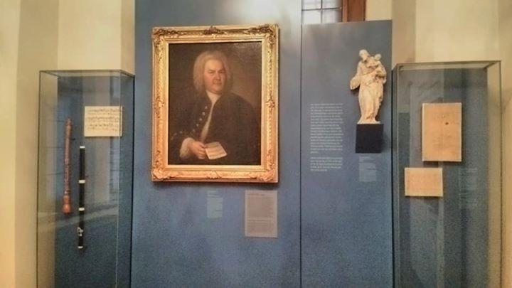 エルトマンの描いたバッハの肖像