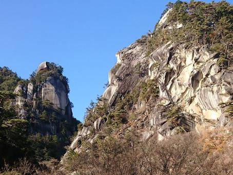 昇仙峡の滝の音を全身浴びたら、もう、当分大丈夫!