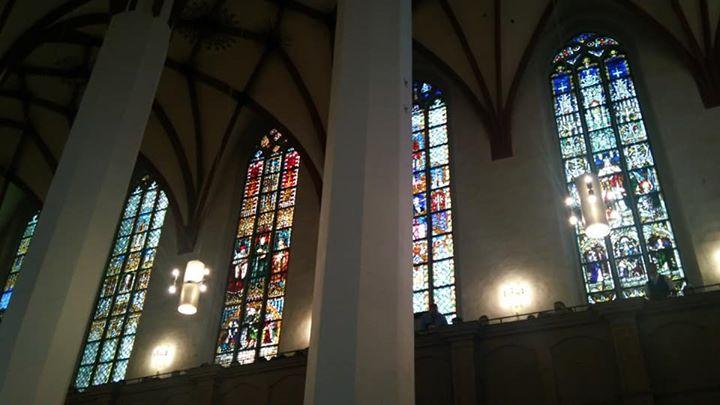 聖トーマス教会_ステンドグラス