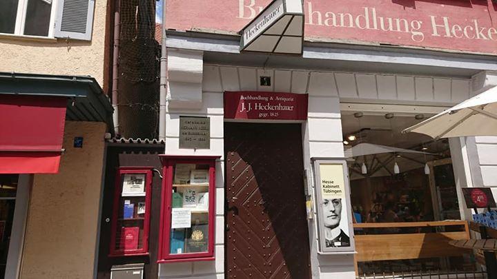ヘッセが働いていたヘッケンハウアー書店