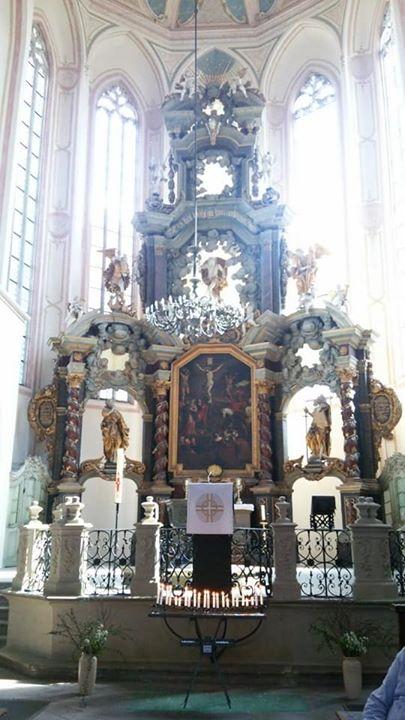 ナウムブルク_ヴェンツェル教会   クラーナッハの絵