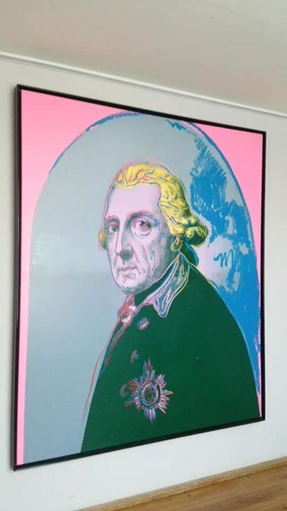 ウォーフォールのフリードリヒ大王の絵が、最後のびっくり玉手箱!サン・スーシ宮殿