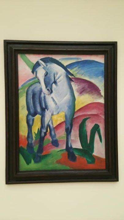 マルク   代表作の青い馬☆
