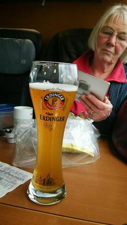 ハンブルクからフランクフルトまで相席だったドイツ人のおばあちゃま