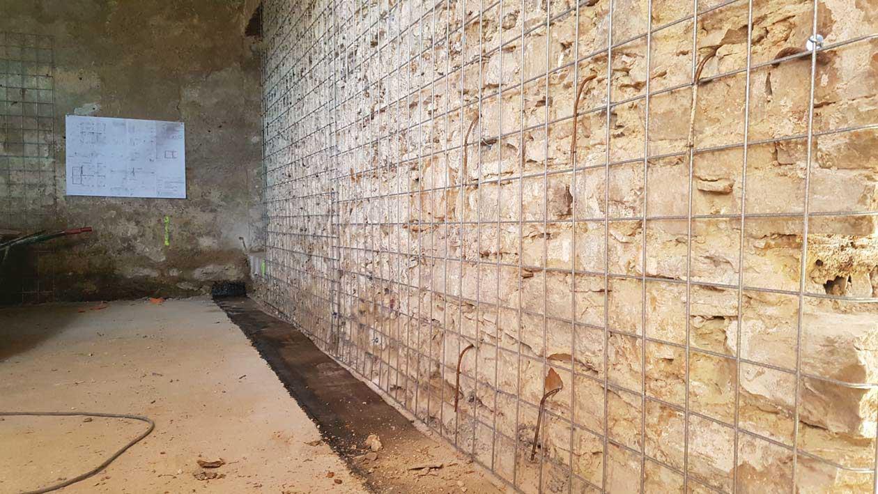Rinforzo della muratura
