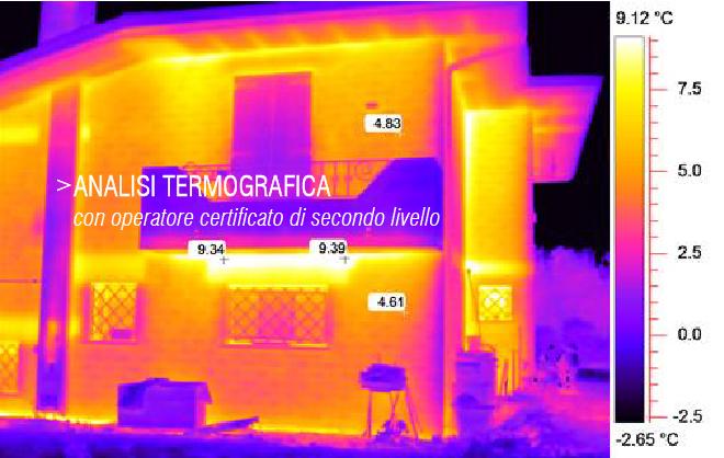 Difetti di posa ricerca ponti termici e consulenza a Belluno e Treviso