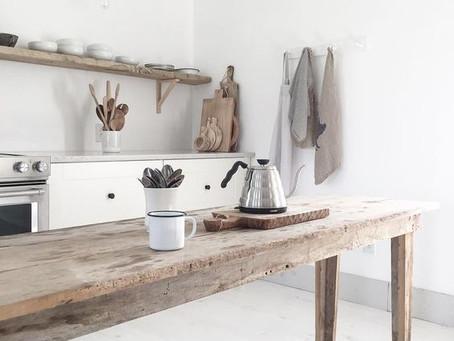 Cucine e legno: qualche consiglio per non sbagliare.