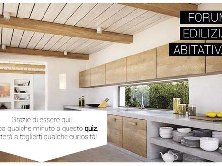 Dieci domande per chi ristruttura o costruisce casa. Quiz!