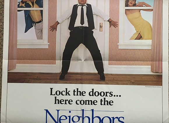 Neighbours - Vintage Comedy Poster