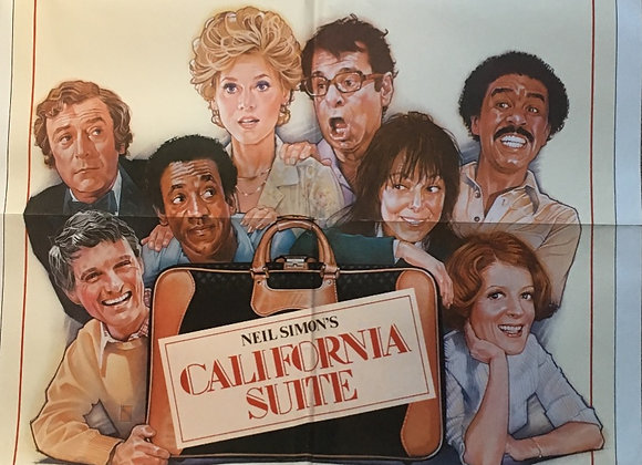 California Suite - Vintage comedy Poster
