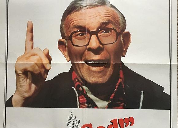 Oh, God! - Vintage Comedy Poster