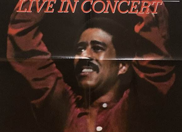 Richard Pryor: Live in Concert - Vintage comedy Poster