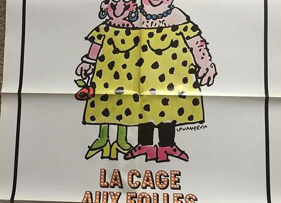 La Cage Aux Folles - Vintage Comedy Poster