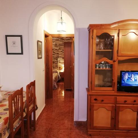 Casa Rural Villa Belydana Pasillo para ir al cuarto de baño y dormitorios* (Renovados)
