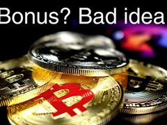 Your bonus system does not work.