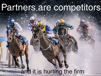 Internal competition is limiting law firm growth