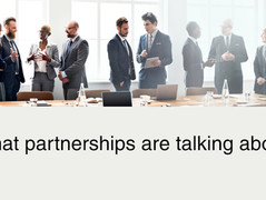 What partnerships are talking about right now