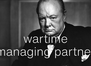 Law firms will need wartime leadership