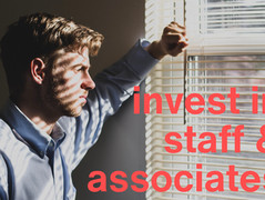 What about your associates and staff?