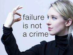 In fear of failure