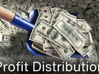Profit distribution creates tensions and bad behavior