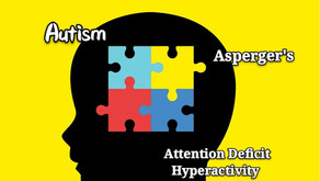 Understanding and comparison between Autism, ADHD, & Asperger's.