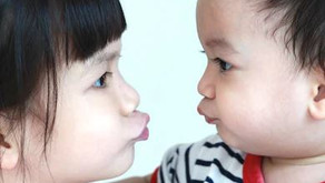 Why do children with autism avoid eye contact?