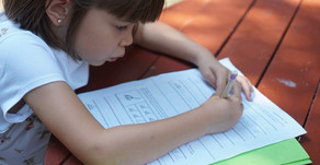Why do children with autism struggle with handwriting difficulties?