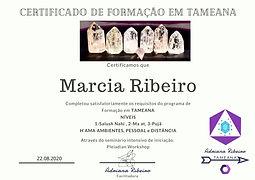 Certificado Tameana
