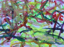 Carly Ramos ''Untltled'' Watercolor inks
