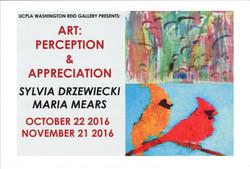 Art: Perception & Appreciation: Sylvia Drzewiecki & Maria Mears