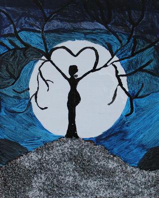 Moon Tree Woman