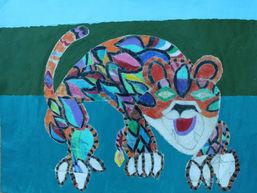 Colorful Cheeta