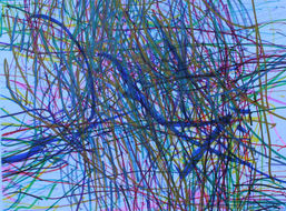 Carly Ramos ''Untitled'' Colored sharpie