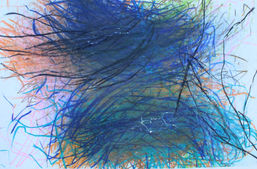 Cheryl Que ''Untitled'' Beeswax crayons