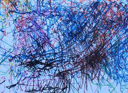 Cameron Trapani ''Untitled'' Colored mar