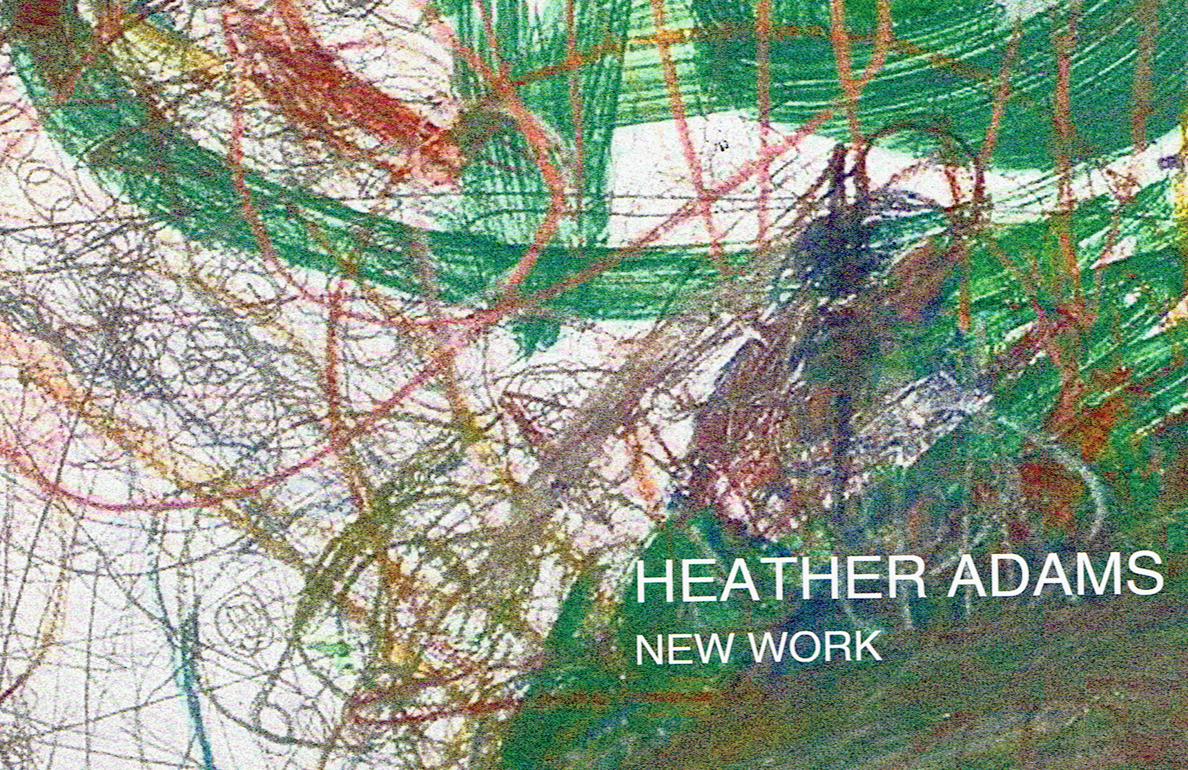 New Work: Heather Adams