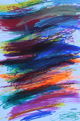 Craig Mayer ''Rainbow'' Colored sharpies