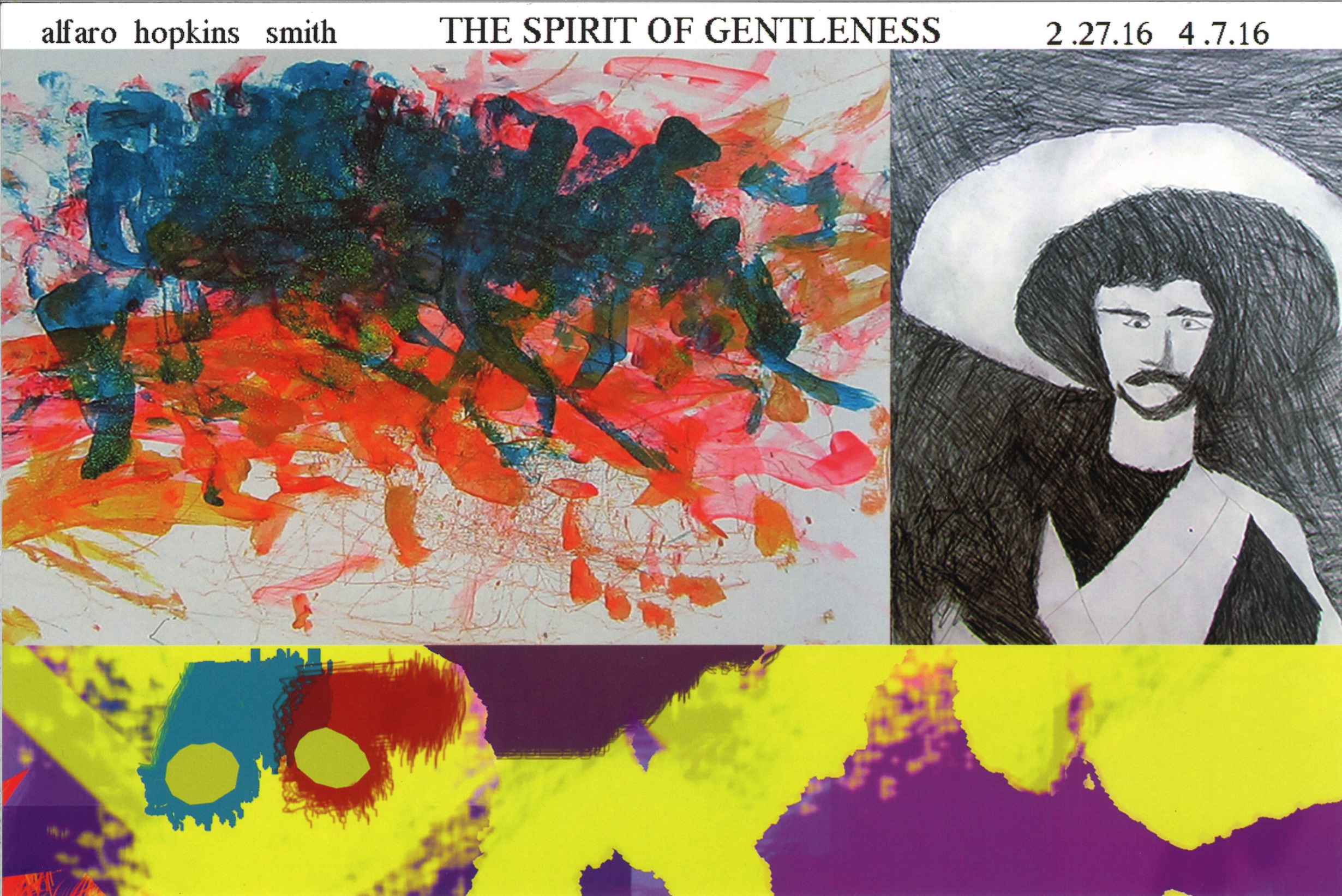 The Spirit of Gentleness: Gilberto Alfaro, Stephen Hopkins, & John Smith
