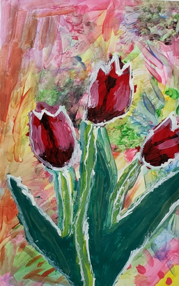 Tulips For My Sister