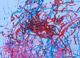 Catlin Romeo ''Untitled'' Colored marker