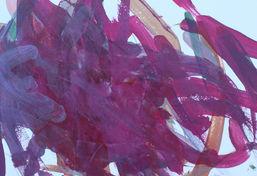 Carly Ramos ''Untitled'' Acrylic on pape